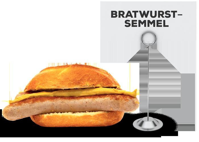 Bratwurstsemmel | Lehmeier's Imbiss