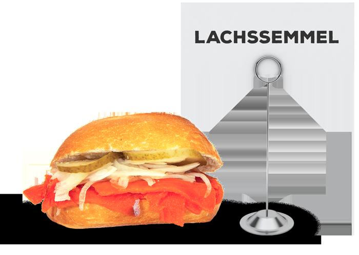 Lachssemmel | Lehmeier's Imbiss