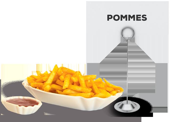 Pommes | Lehmeier's Imbiss