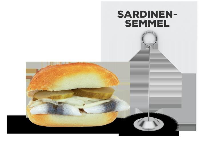Sardinensemmel | Lehmeier's Imbiss